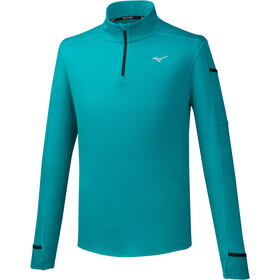 Mizuno Warmalite Half-Zip LS Men blue grass